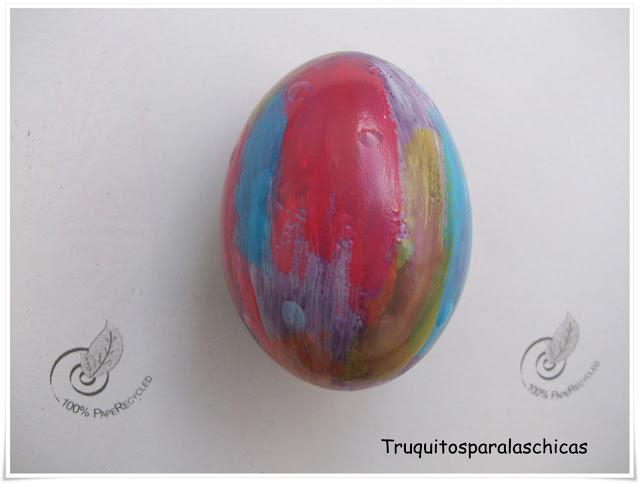 huevo pintado