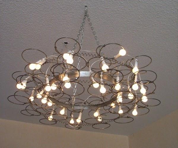 Repurposed Lamp Shades Ideas