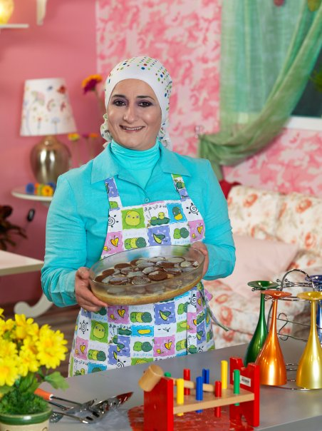 Chef Manal El Alem http://onemillionpostits.blogspot.com/2011/12/5-reasons-why-manal-al-alem-is-awsome.html