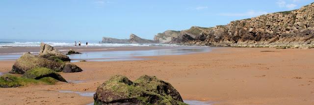 Playa nudista Canavalle (Cantabria)