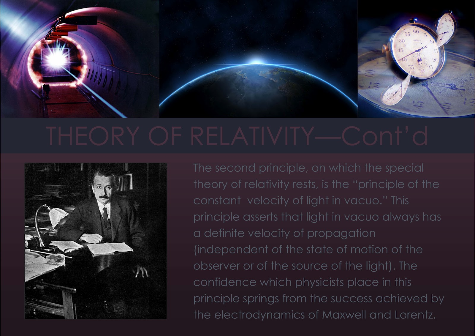 special theory of relativity can be Speed of light why einstein was wrong about relativity the special theory of relativity is one of the most successful theories of modern physics – but one of its assumptions is way off-beam.