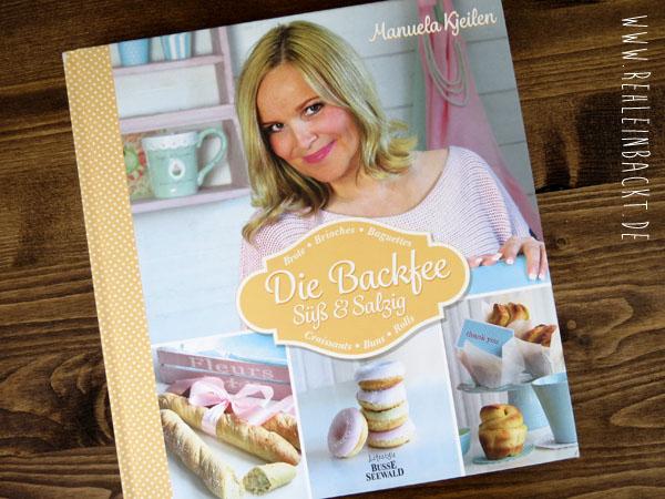 Rezension zum Backbuch Die Backfee Süß & Salzig von Manueal Kjeilen | Foodblog rehlein backt