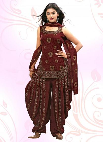 punjabi suit is a vital dress for the punjabi women this is one of the