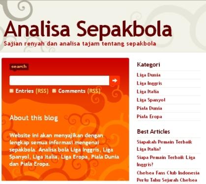 Analisabola.com Pusat Artikel Bola