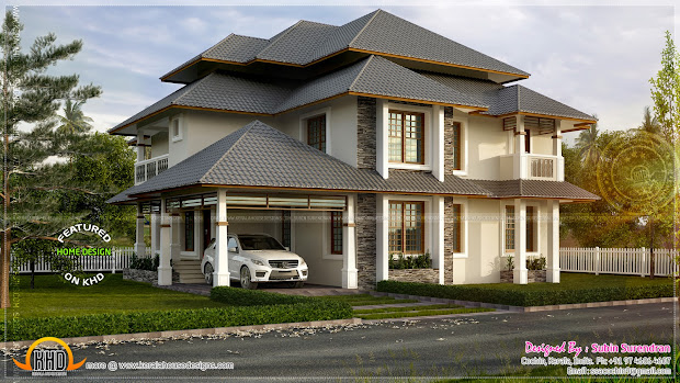 Traditional Modern House Design