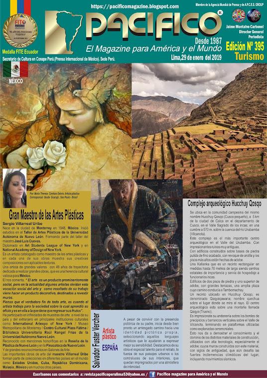 Revista Pacifico N° 395  Turismo