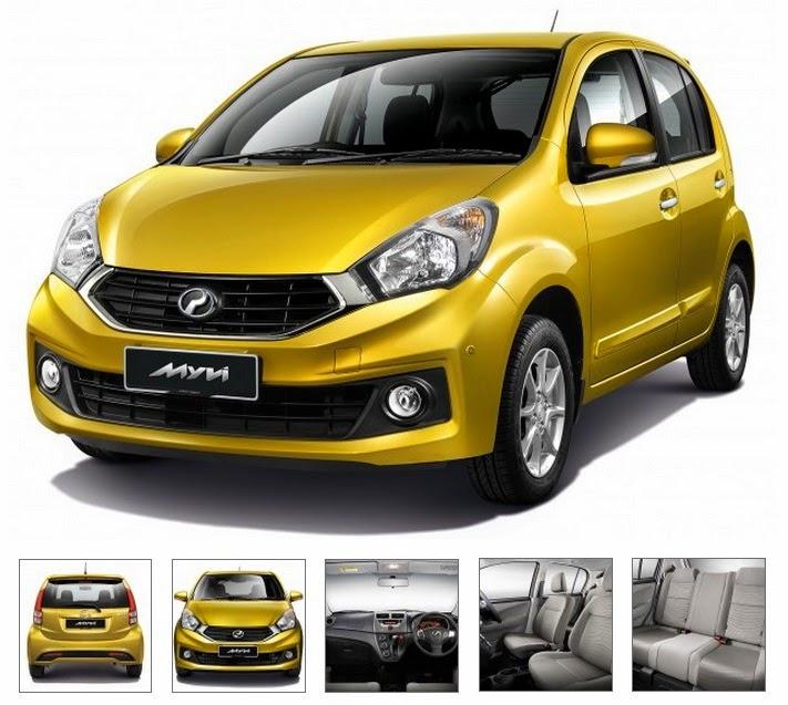 Model Perodua Myvi Baru (Facelift) 2015 - Premium X 1.3L (AT)