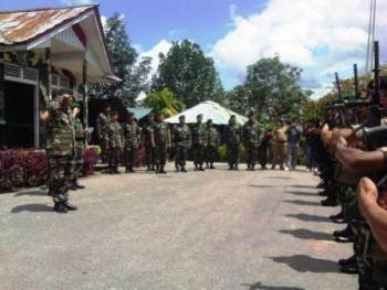 Kalimantan Barat Bersatu: TNI SIAP MENJAGA KEUTUHAN DAN ...
