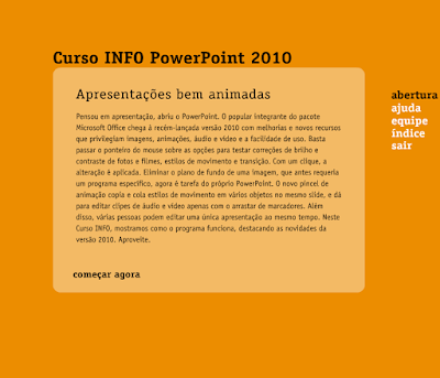 CURSO INFO POWERPOINT 2010