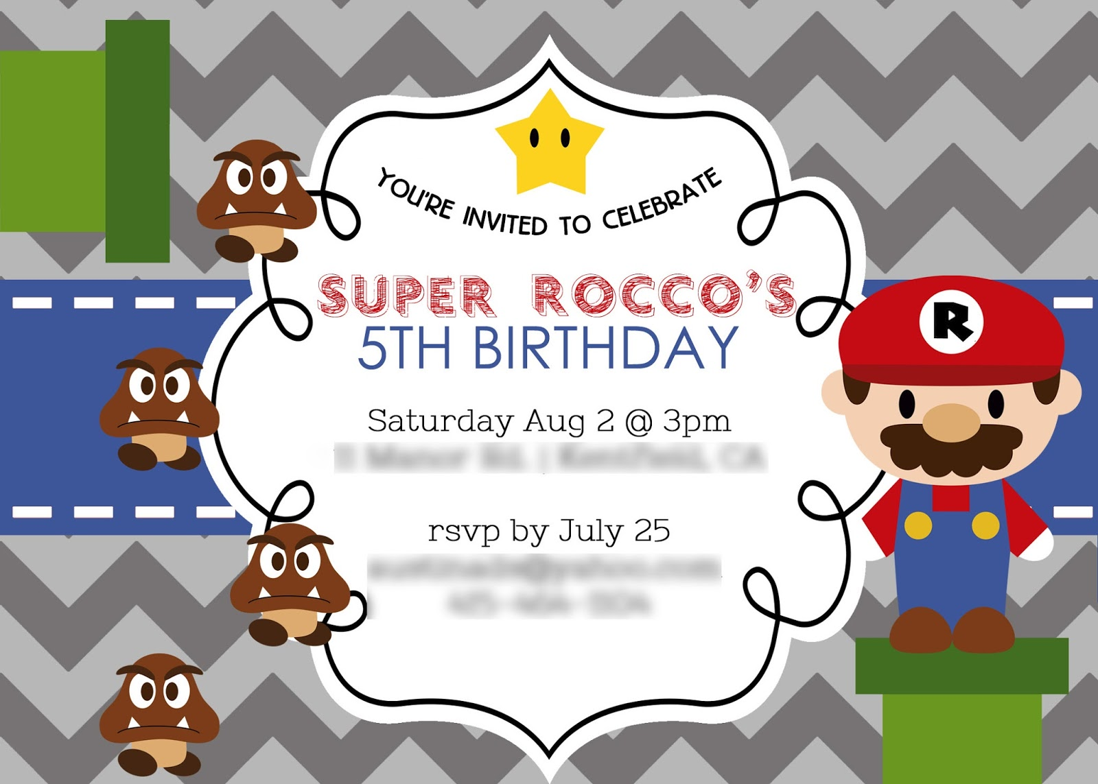 Sugar mama cookies roccos 5th birthday a super mario party roccos 5th birthday a super mario party monicamarmolfo Gallery