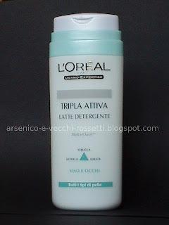 L'Oréal Tripla Attiva Latte Detergente