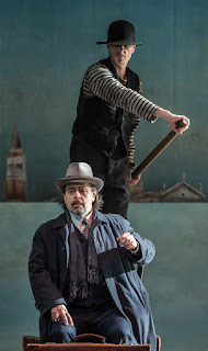 William Dazeley, Paul Nilon - Death in Venice - Garsington Opera - photo Clive Barda