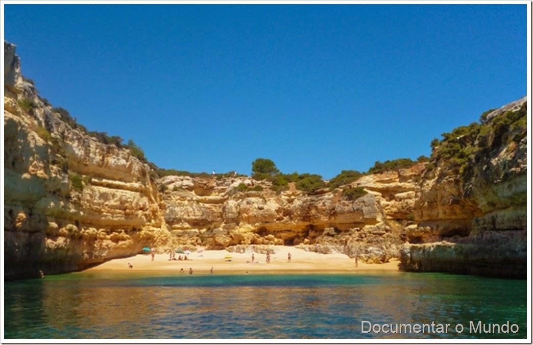Praia da Fontainha; Praias Algarve; Férias Algarve; Grutas Marinhas; Sea Caves; Grotten Fahrt