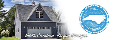 Buy prefabricated car garages in North Carolina