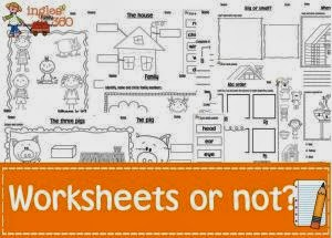 Ideas to use worksheets