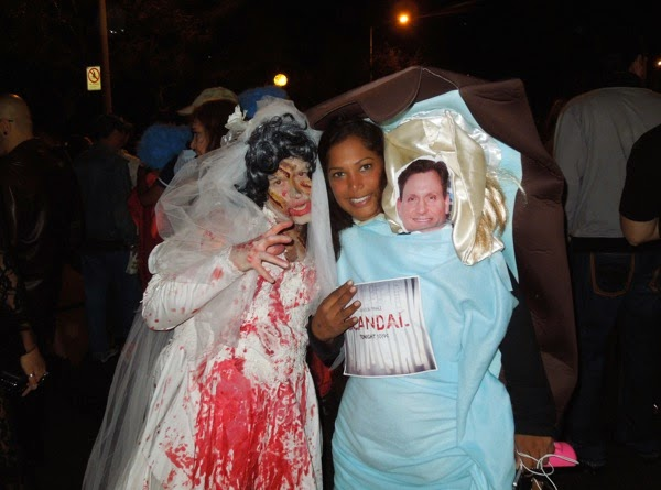 West Hollywood Halloween Scandal costume