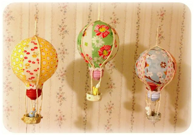 電球で作る気球オーナメント♪描くor貼るだけ簡単リメイク☆