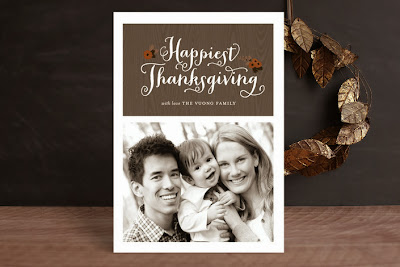thanksgiving, fall, autumn, photo card, minted