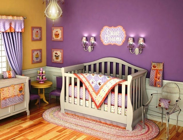 wall colors for baby nursery