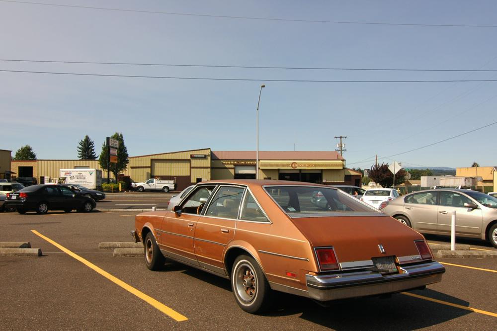 Old parked cars 1978 oldsmobile cutlass salon brougham for 1978 oldsmobile cutlass salon brougham