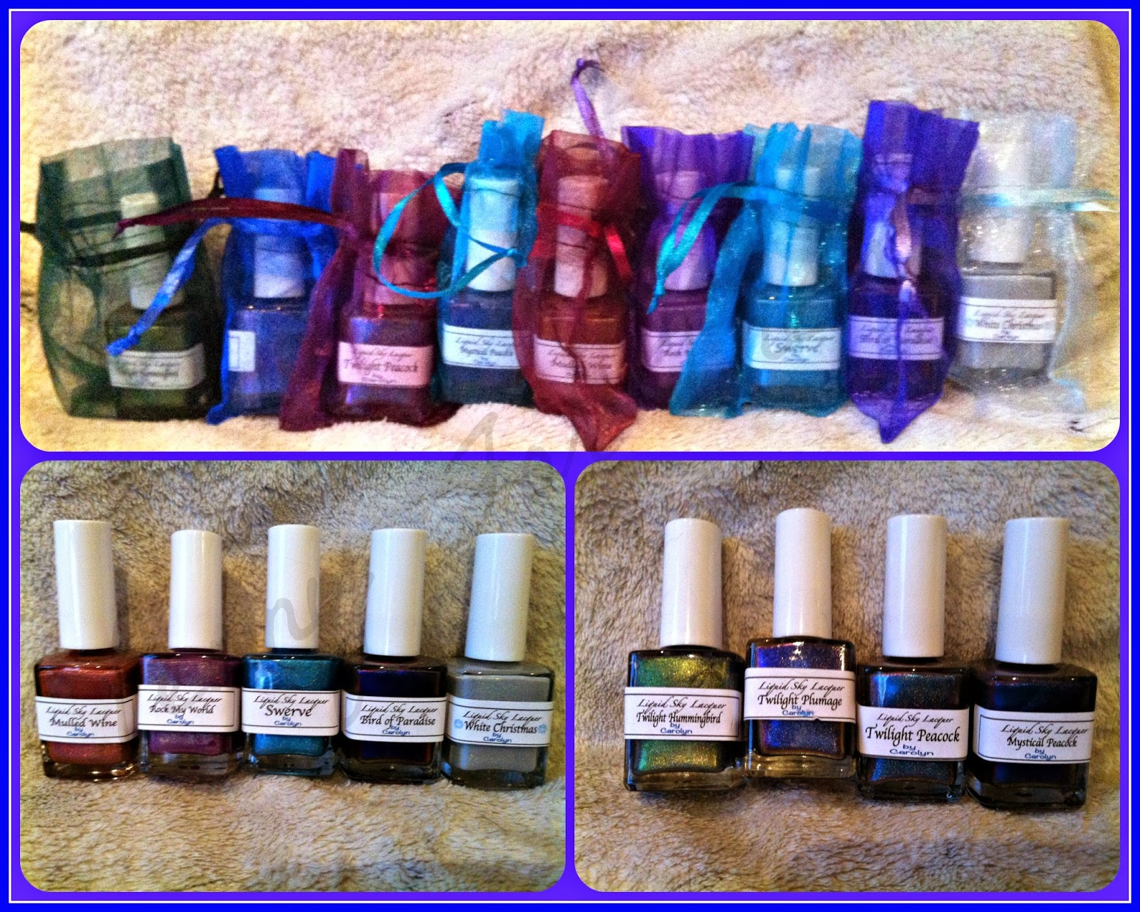Lots of Luscious Liquid Sky Lacquer to Ogle! ~ Penny For Them....