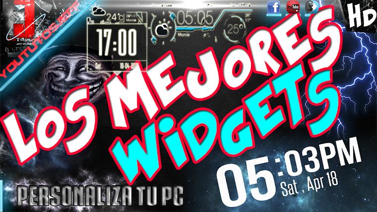 LOS MEJORES WIDGETS PARA PC | 2015