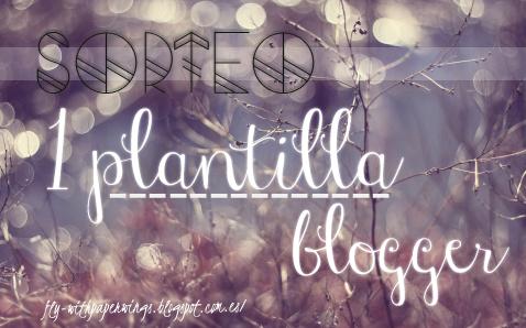 ¡Sorteo de una plantilla Blogger!