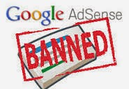Penyebab Banned pada google adsense