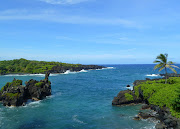 Its rugged beaches are dominated by volcanic remnants such as lava tubes and .