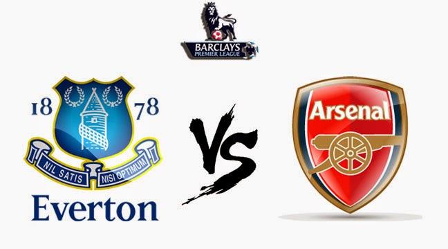 Prediksi Skor Everton vs Aresnal 06 April 2014 - Liga Inggris