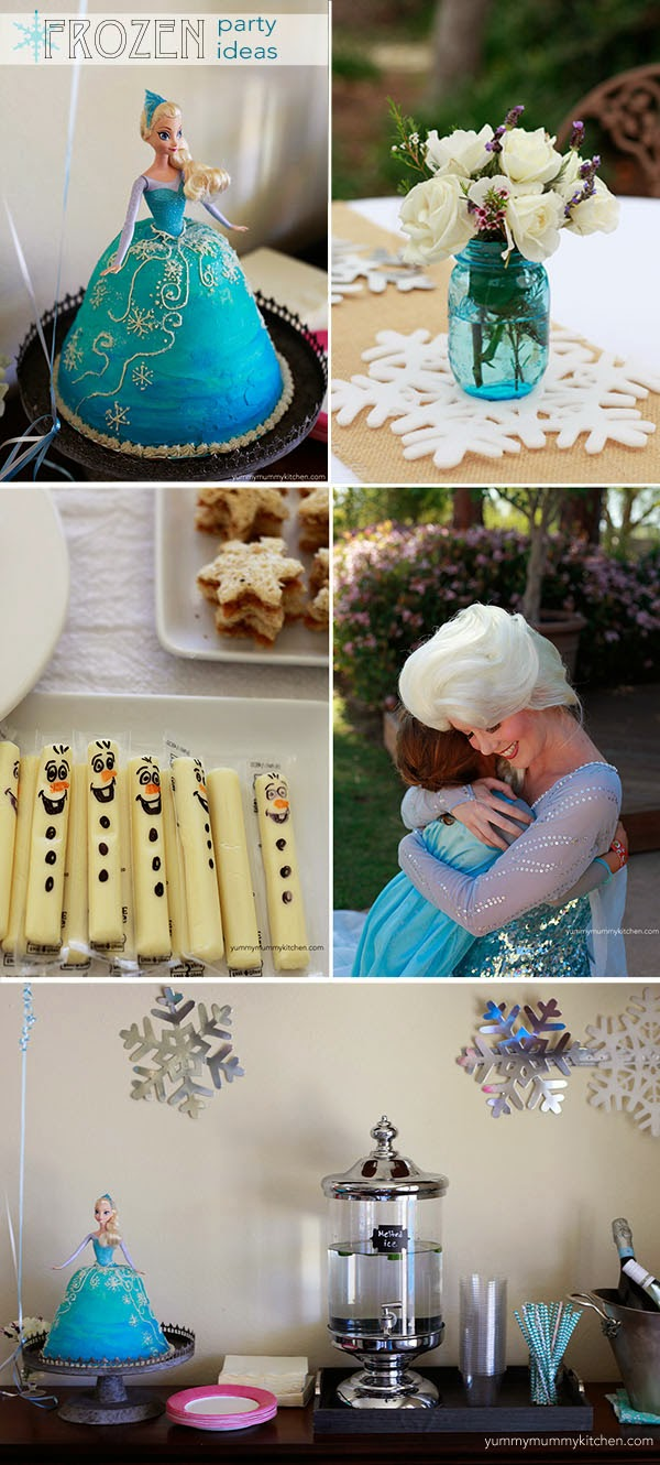 Disney Frozen Party Ideas Yummy Mummy Kitchen A Vibrant