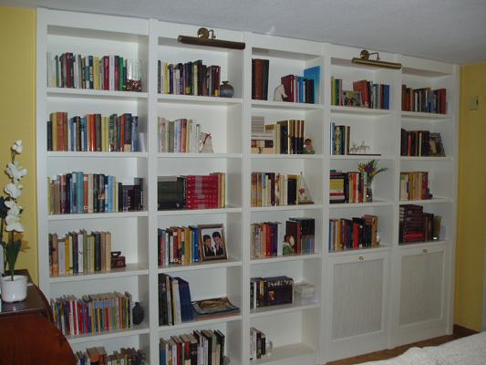 Librer as a medida en madrid muebles de madera fabritecma - Librerias a medida en madrid ...