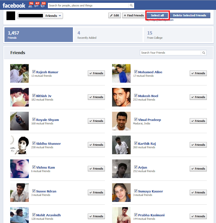 how to know if friend deleted account on facebook