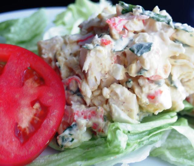 Cliantro Seafood Egg Salad