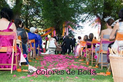ceremonia boda decorada