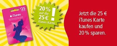 iTunes-Aktion bei Rewe