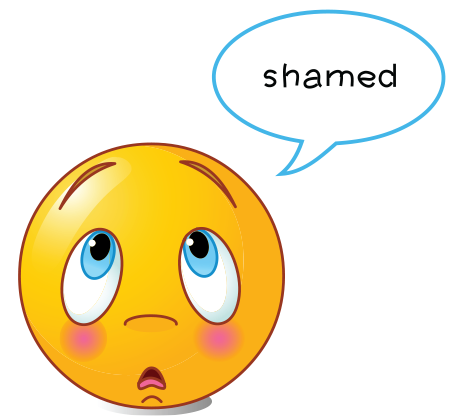Shamed Smiley - Facebook Symbols and Chat Emoticons