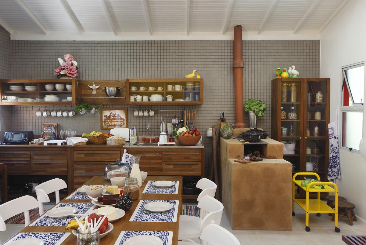 decoracao-de-cozinha-rustica-1 # decoracao cozinha rustica