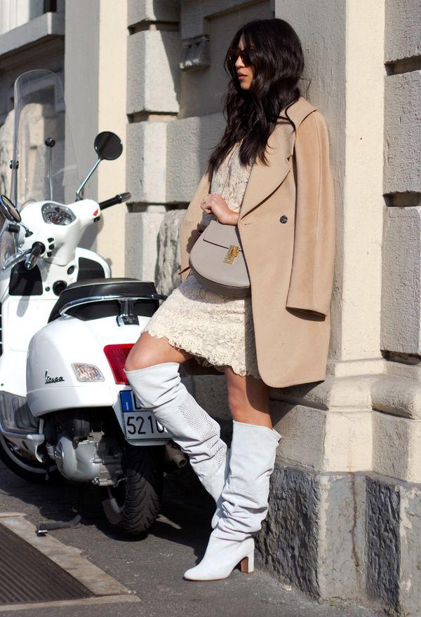 Outfits con botas de temporada para mujeres