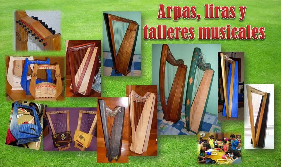 ARPAS, LIRAS Y TALLERES MUSICALES