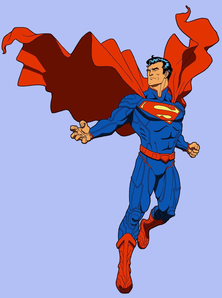 Superman man of steel movie