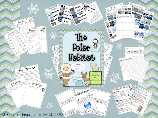 http://www.teacherspayteachers.com/Product/Polar-Habitat-for-the-Common-Core-Classroom-414955