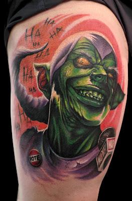 Green Goblin Tattoo