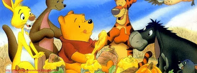 Couverture facebook timeline winnie the pooh