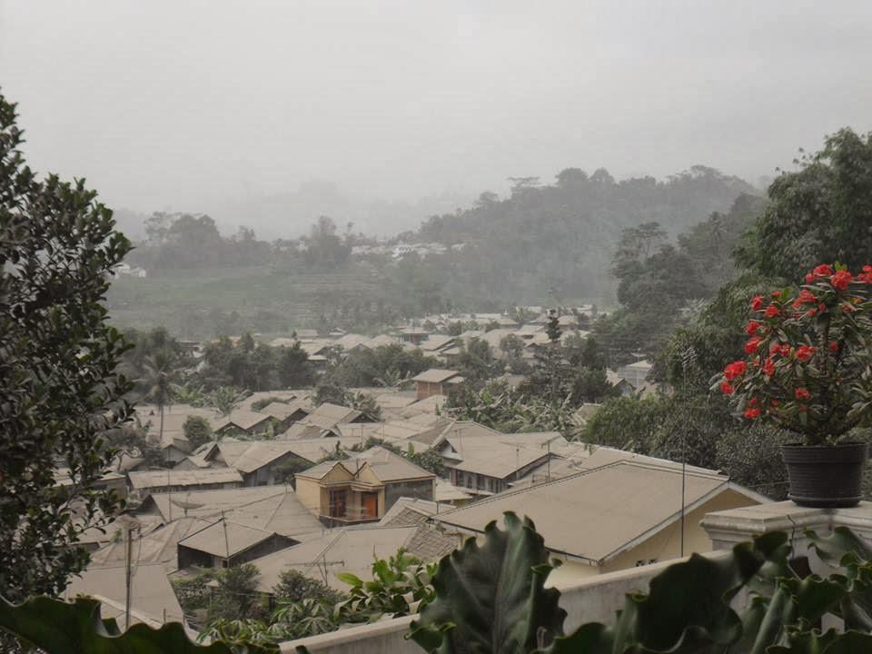 Wonosobo jadi kota klasik gara-gara hujan abu