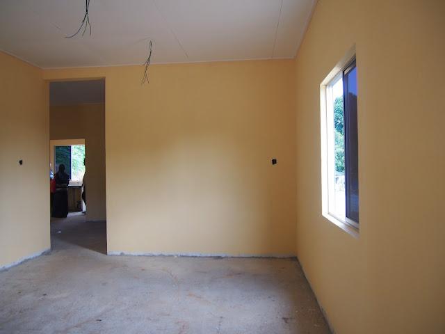 ruang tamu bilik utama plus bilik air ruang makan dapur