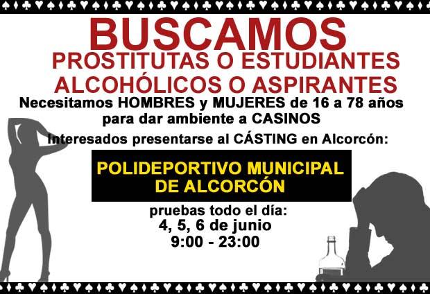 prostitutas alcorcon porcentaje prostitutas obligadas