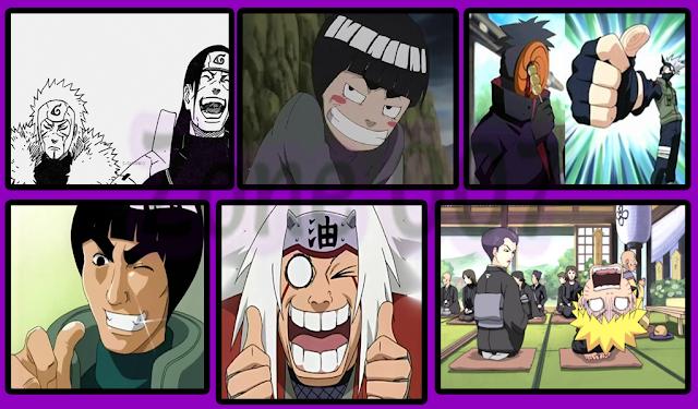Shinobi Terkonyol di Naruto