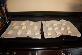 homemade sausage rolls waiting to be cooked