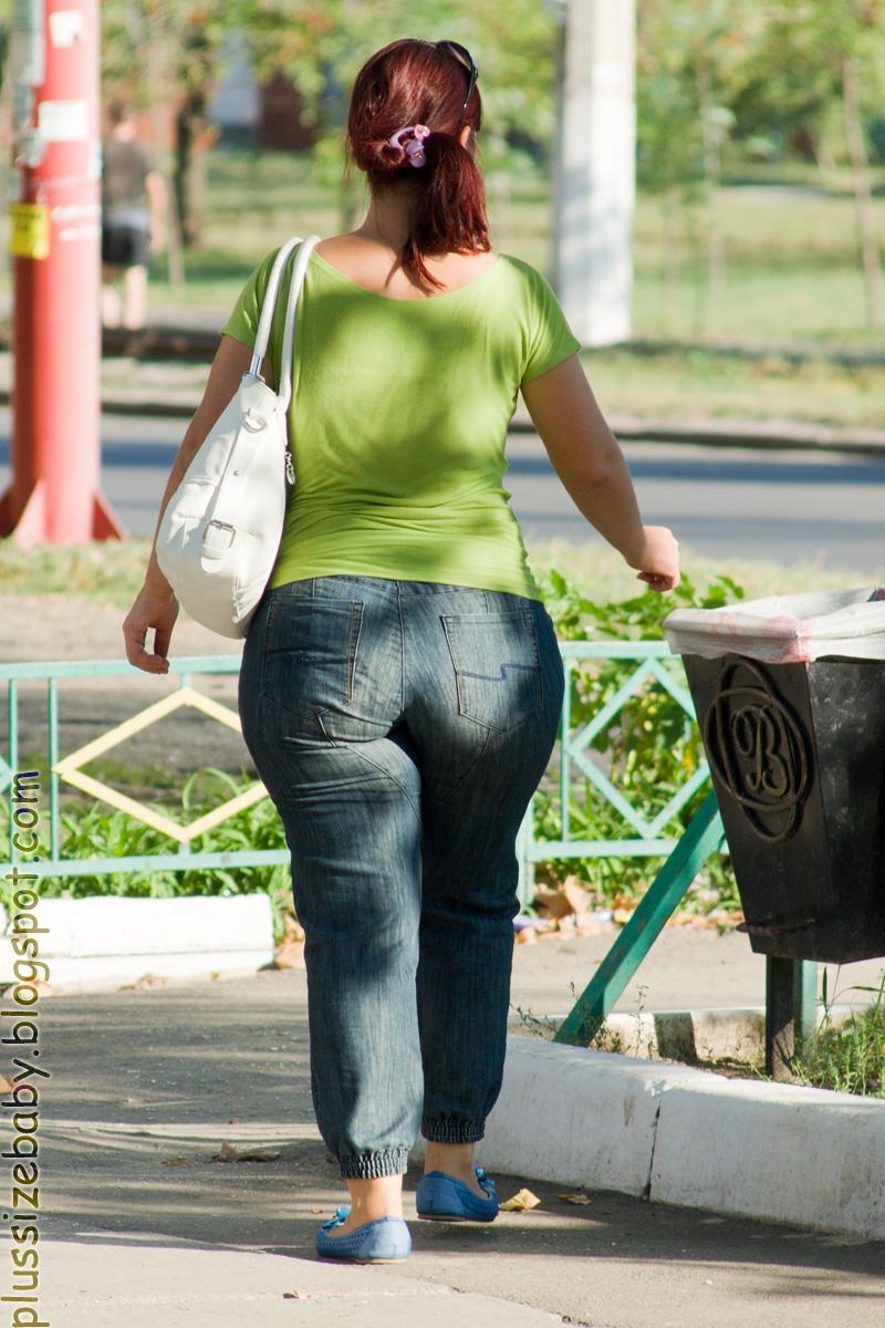 Улицах на толстые смотреть горада жопы